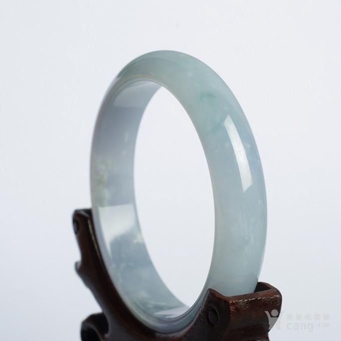 冰紫翡翠平安手镯(57mm)-32HR04图4