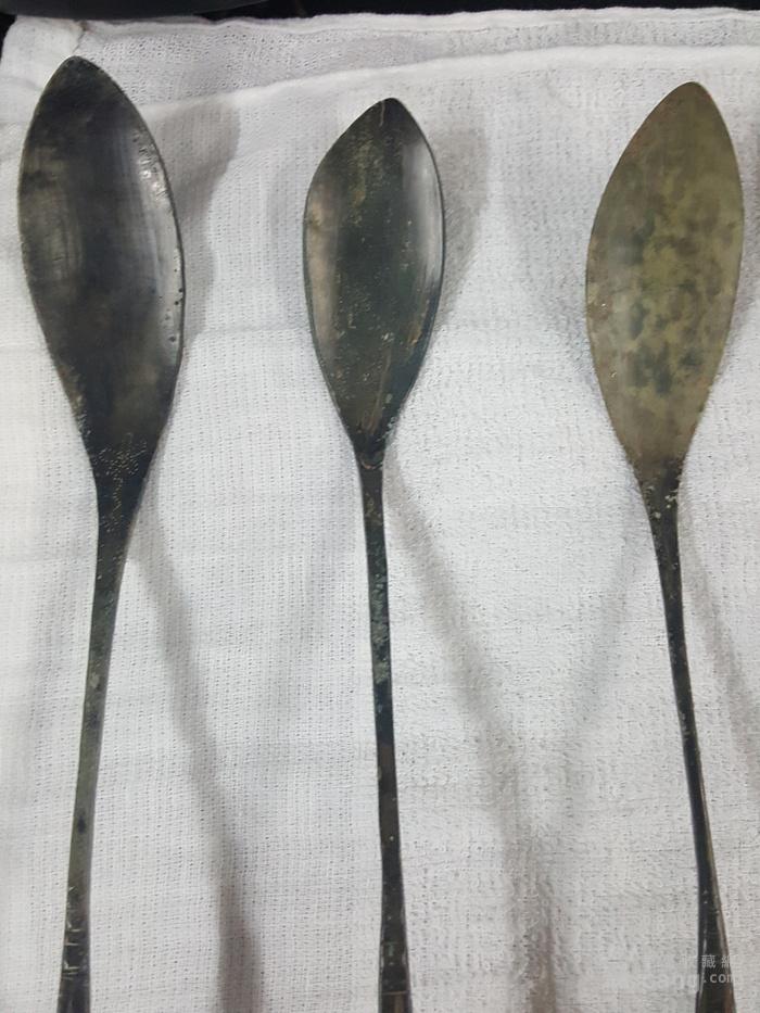 勺子写实手绘图