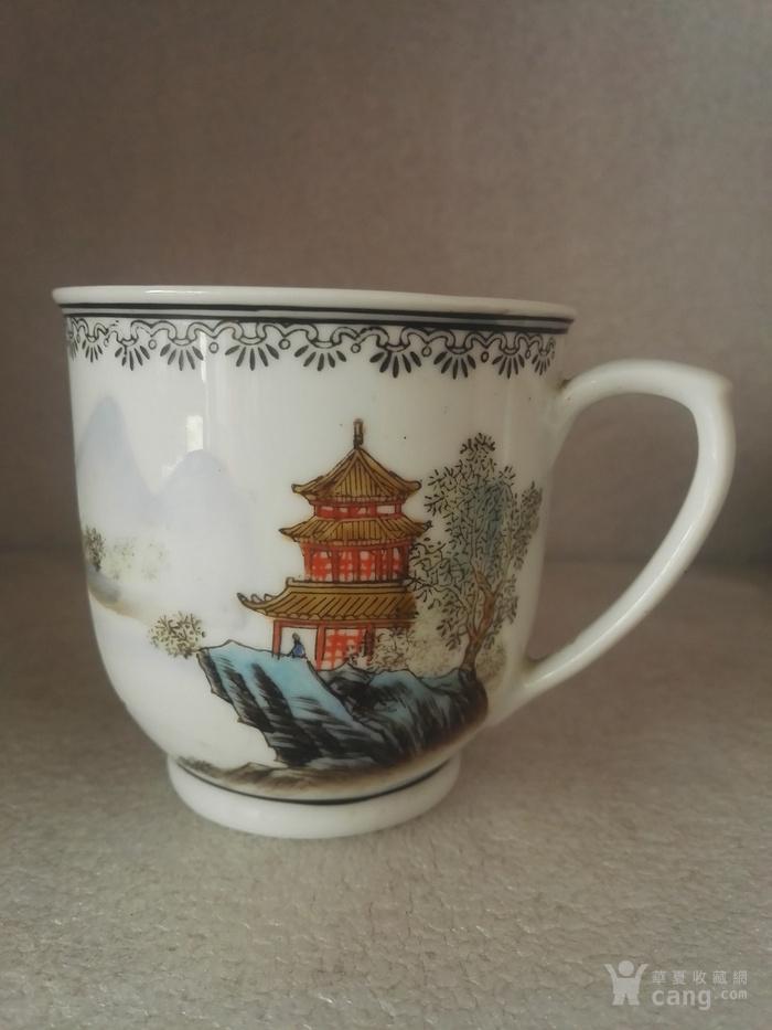 1988年山水风景茶杯