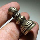 晚清 铜质 手工雕刻 法印 带图腾 工艺十分精湛