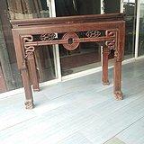 红木贡壁三弯腿半桌