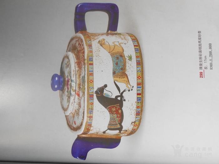 清陈曼生阿曼陀室款粉彩紫砂壶  捡漏价