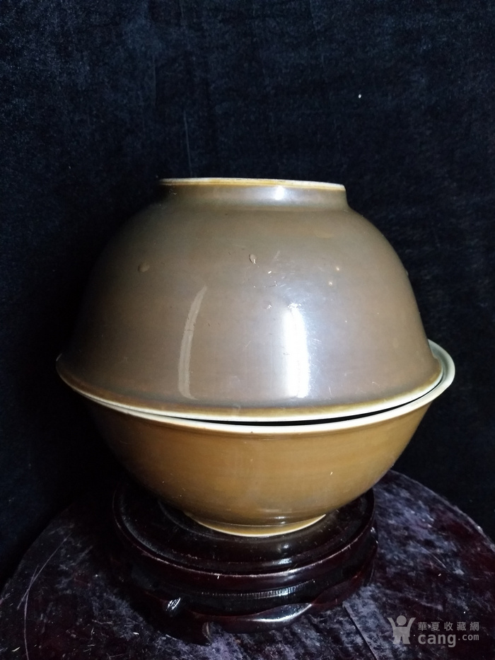 【前线老货】民国紫金釉大碗!!买一送一