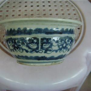 清代青花龙纹炉