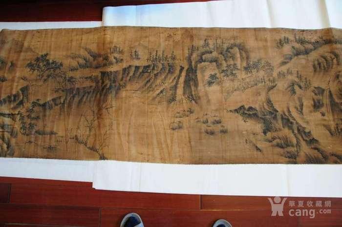 86米丝帛长卷    万里江山
