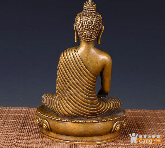 老斑铜 佛像