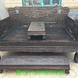 老红木家具古玩木器清代老木器酸枝红木旧家具罗汉床一件