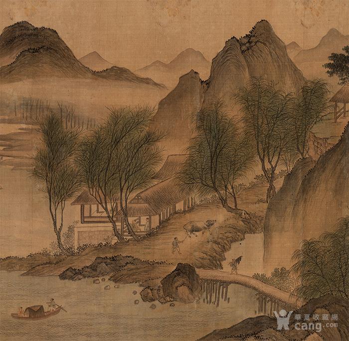 沧州6.20凹�b9�[�b8_清 恽寿平 湖山春暖图