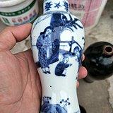 康熙青花瓶