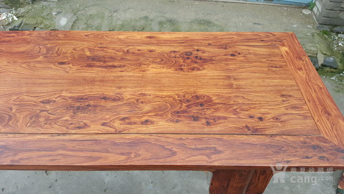 木艺 古典家具 海南黄花梨平头条案 画案 花纹一流 特价甩了
