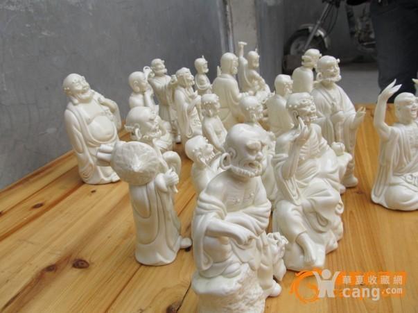 德化瓷十八罗汉