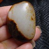 和田黑红皮籽料原石
