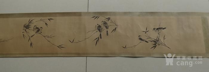 蒋廷锡手卷 珍禽图