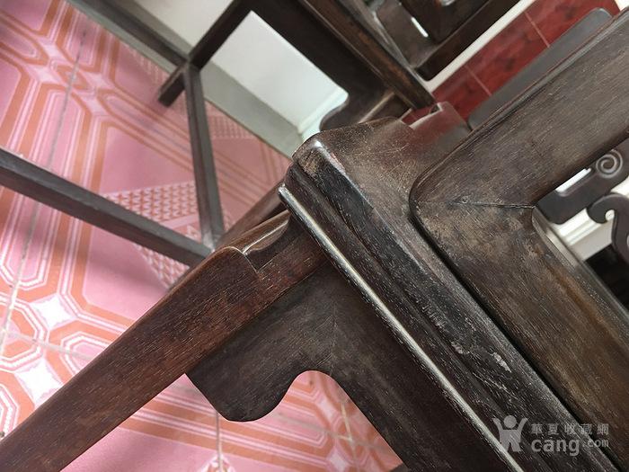 苏作老红木什锦椅太师椅一对