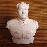 文革毛主席瓷像 毛主席微型雕塑瓷像 红色收藏 毛主席像