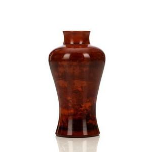 褐彩琉璃梅瓶