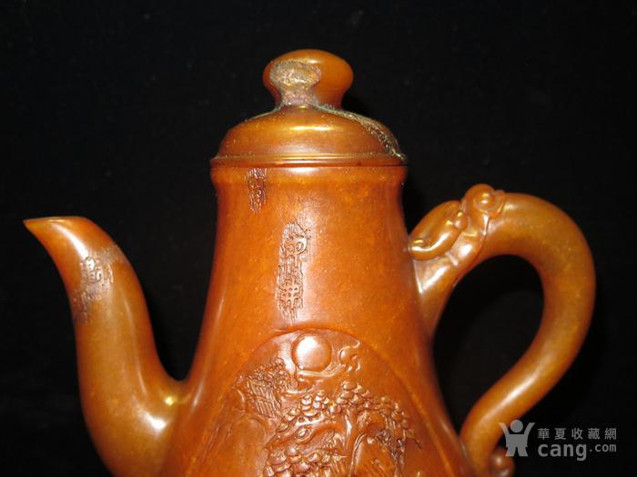 寿山石酒壶