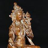 明代十五世纪财源天母佛像