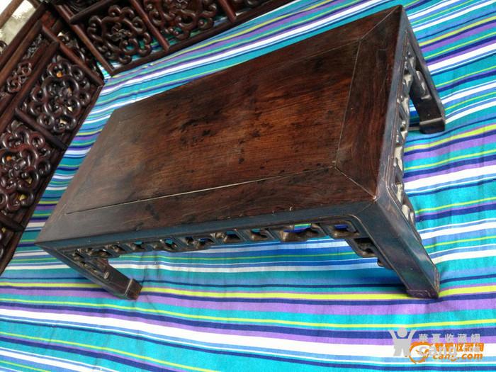 清苏作老红木炕桌
