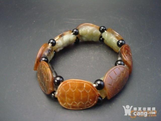 和田籽玉金龟手链