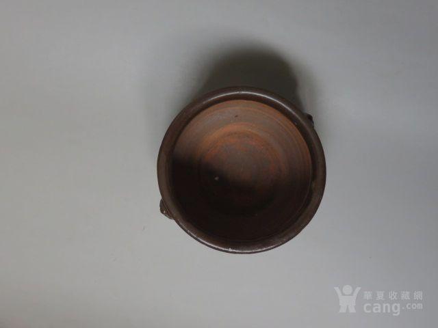 全品民国石湾窑 兽耳 香炉