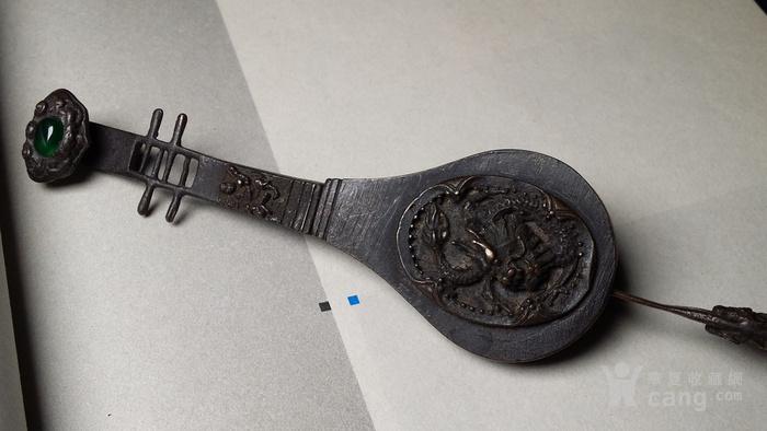 老铜锁 琵琶 雕龙