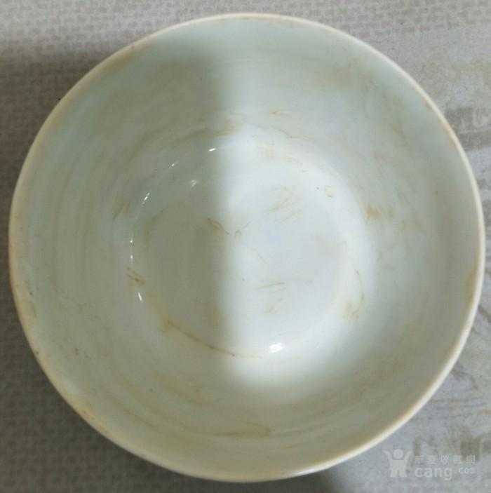 斗彩花纹碗