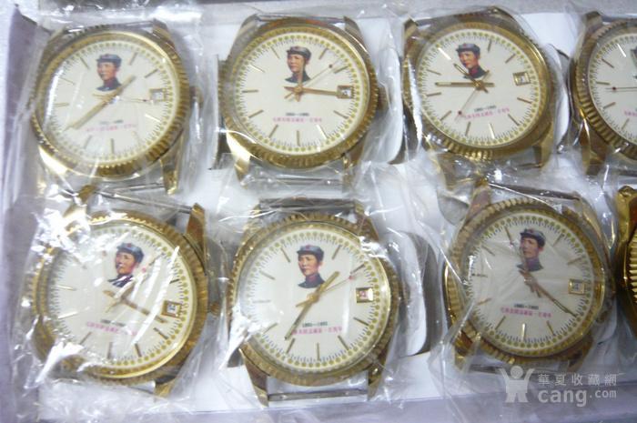 毛主席头像全自动手表一盒通点