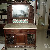 老红木梳妆台