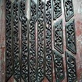 老红木酸枝雕花框