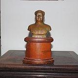 文革带款1966年毛主席铜像