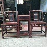 榉木文单椅