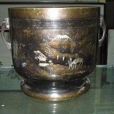 日本明治时代大铜簋