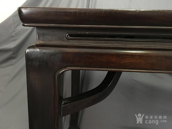 老红木酸枝霸王枨画桌