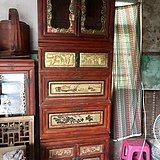 木箱柜 13757722335
