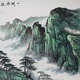 一代风流定江山 群山环绕的景象