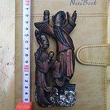 清代木雕人物