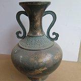 老铜花瓶15100665865
