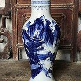 乡下收的一个青花瓶