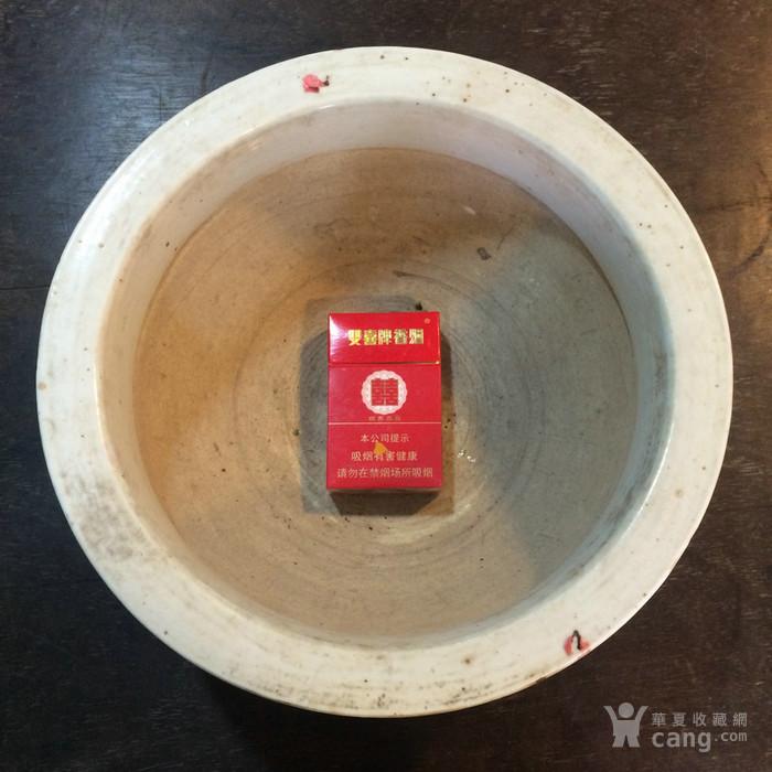 清代青花草龙大香炉 27.5