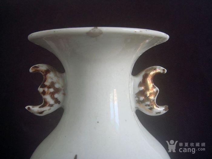 民国人物故事花瓶。