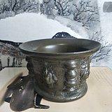 清代英国铜香炉
