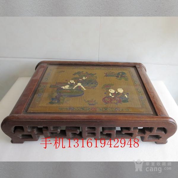 花梨木漆器茶几 炕几 炕桌图2