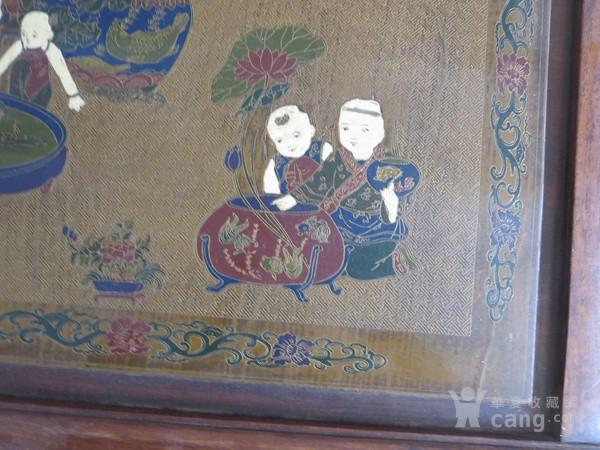花梨木漆器茶几 炕几 炕桌图4