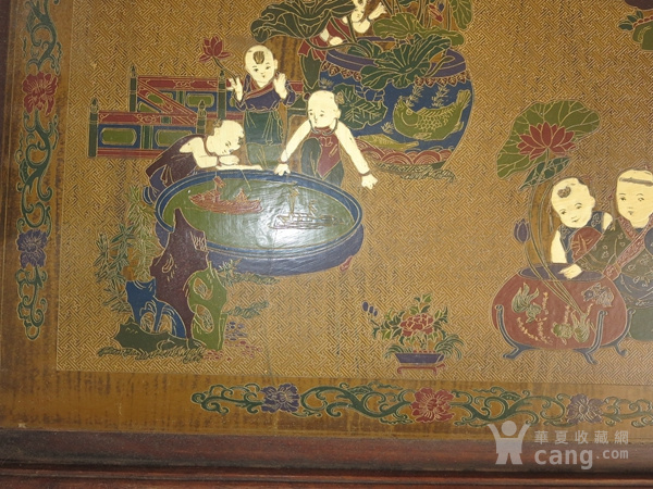 花梨木漆器茶几 炕几 炕桌图5