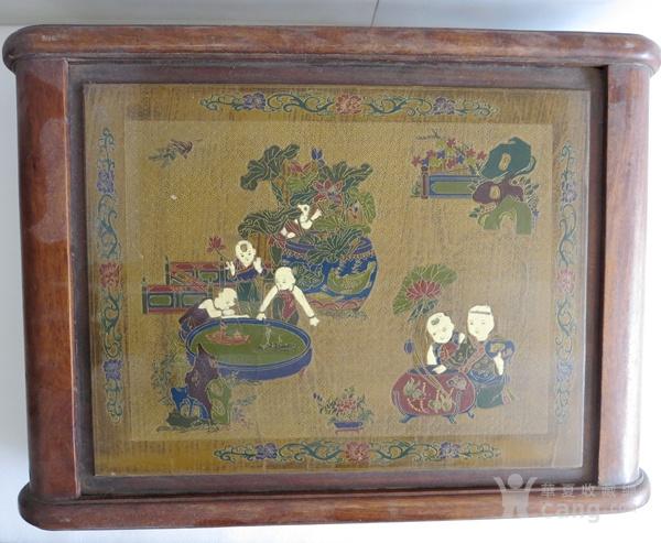 花梨木漆器茶几 炕几 炕桌图3