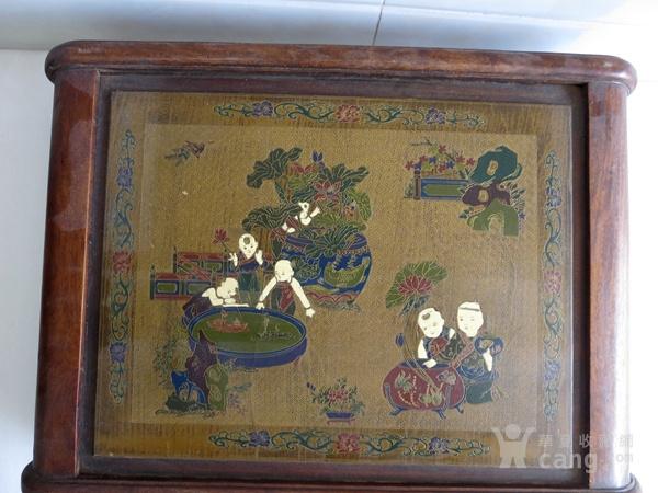 花梨木漆器茶几 炕几 炕桌图6