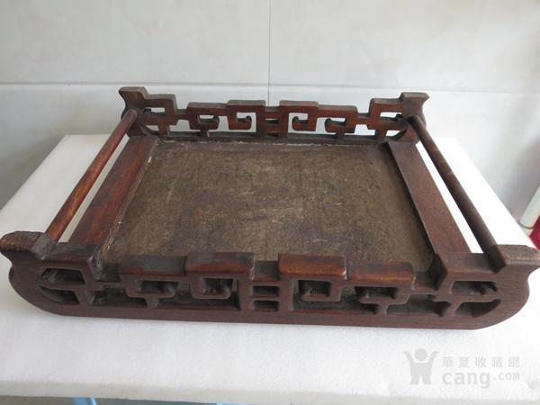 花梨木漆器茶几 炕几 炕桌图8