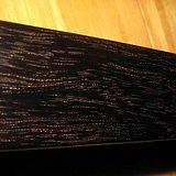 特价 清代   印度小叶紫檀  有金星金丝的毛笔盒