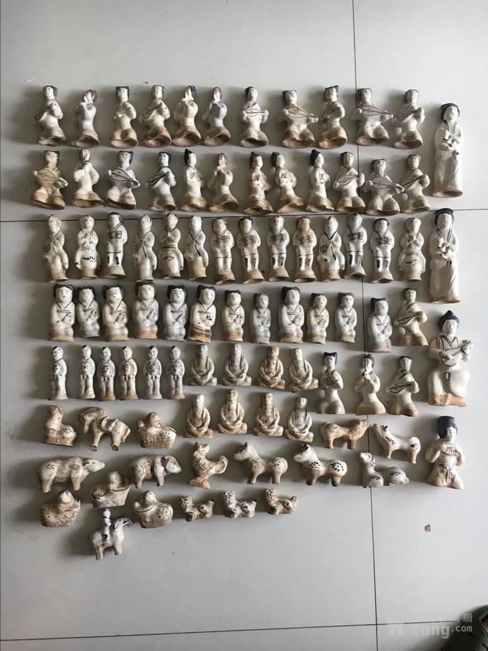 磁州窑人物 古玩古董杂项瓷器图1
